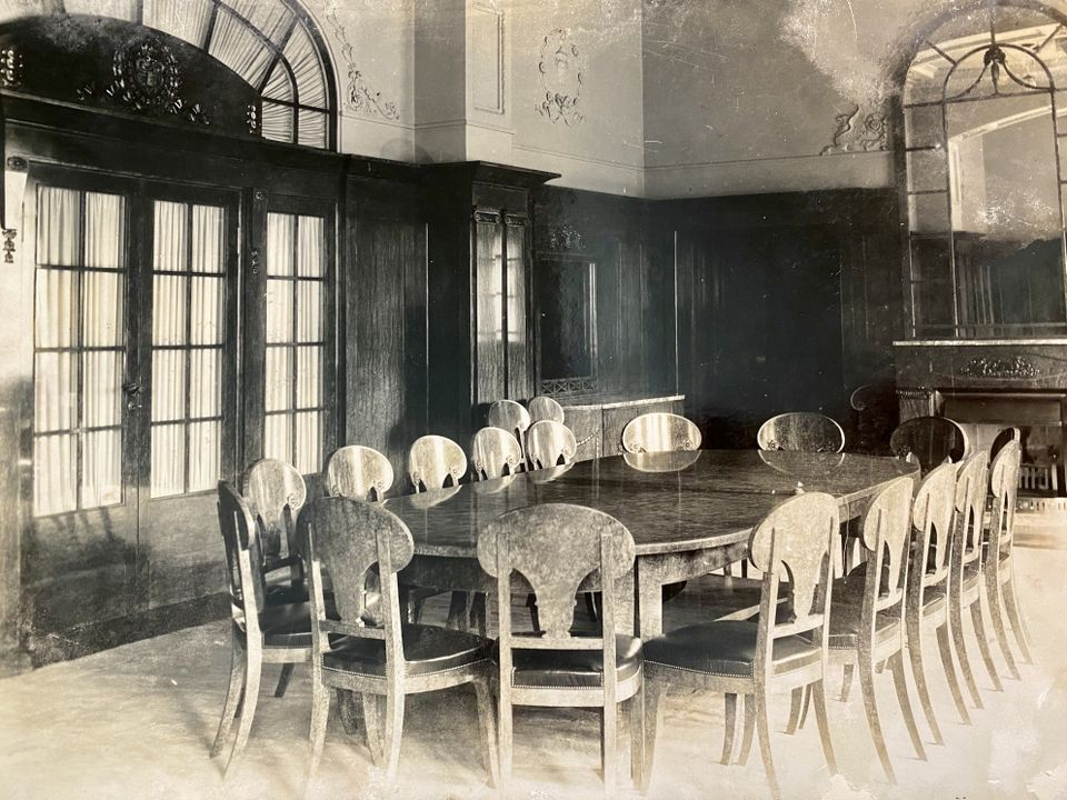 Карелската столова, малко след завършването й, 1912 г