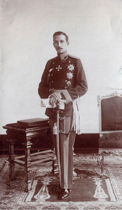Цар Борис III, 1918 г.