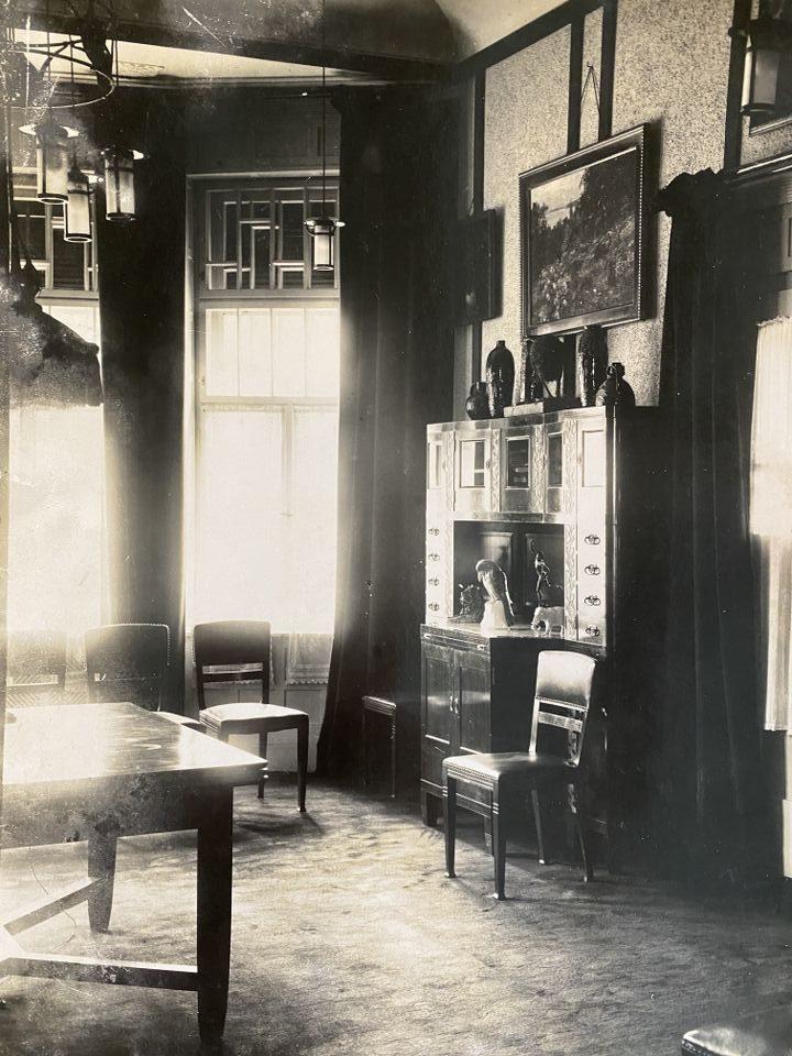 Малката трапезария в Стария дворец, 1904 г