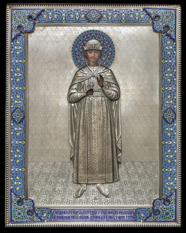 Икона на Св. Цар Борис-Михаил Покръстител