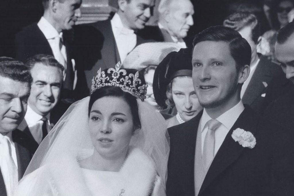 Сватбени тържества във Вевей, Шверцария, 21 януари 1962 г.