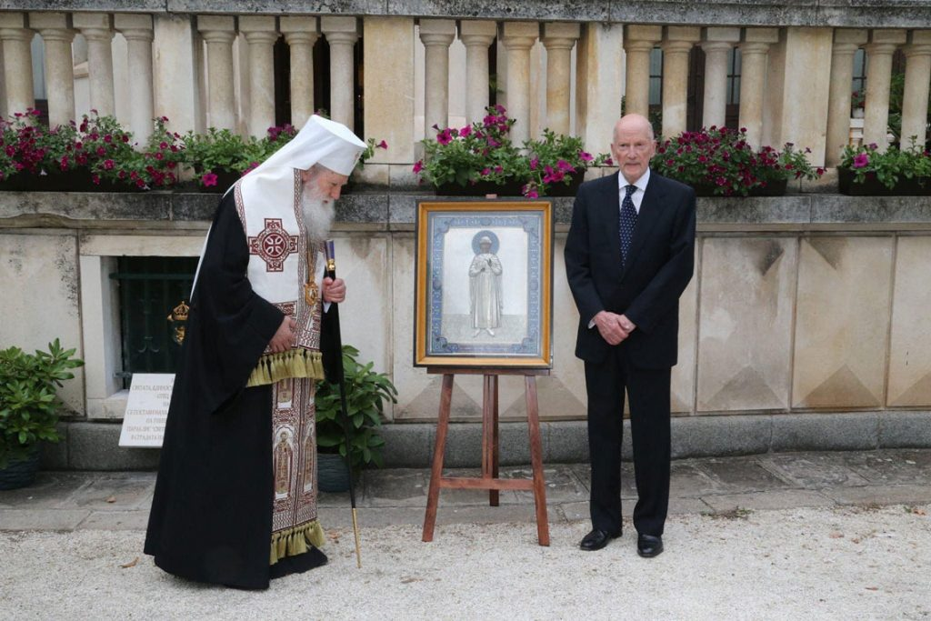 Патриарх Неофит на 80 годишнината от Цар Симеон II